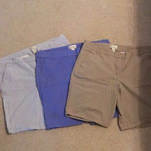 JCrew Bermuda shorts